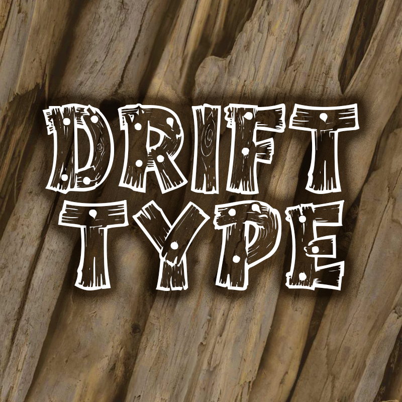 Print on Demand: Drifttype Decorative Font By Tracertong Fontworks