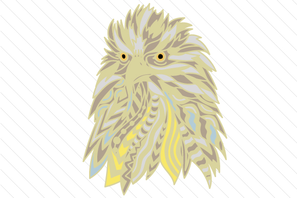 Download Free Eagle Head Zentangle Svg Cut File By Creative Fabrica Crafts for Cricut Explore, Silhouette and other cutting machines.