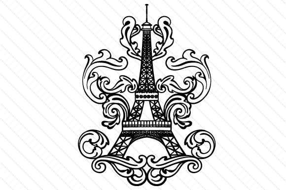 Eiffel Tower Intricate Craft Design By Creative Fabrica Crafts Image 2