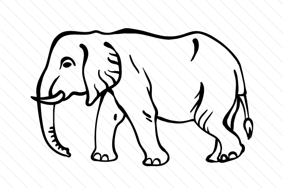 Download Free Elephant Svg Cut File By Creative Fabrica Crafts Creative Fabrica SVG Cut Files