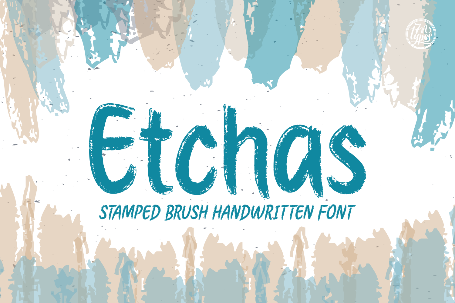 Etchas Script & Handwritten Font By Situjuh