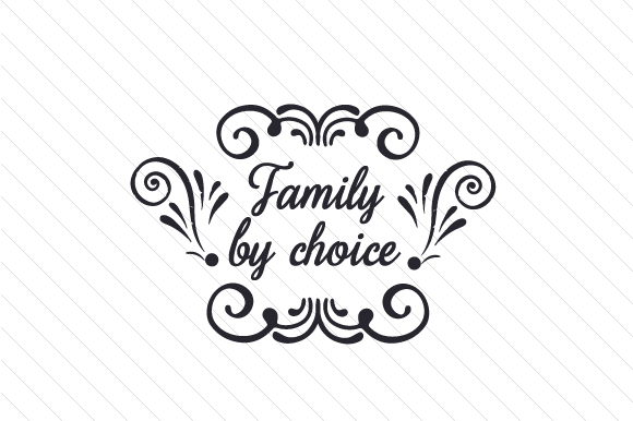 Family by Choice Adoption Craft Cut File By Creative Fabrica Crafts - Image 2