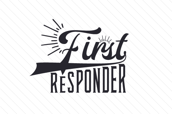 First Responder Fire & Police Craft Cut File By Creative Fabrica Crafts