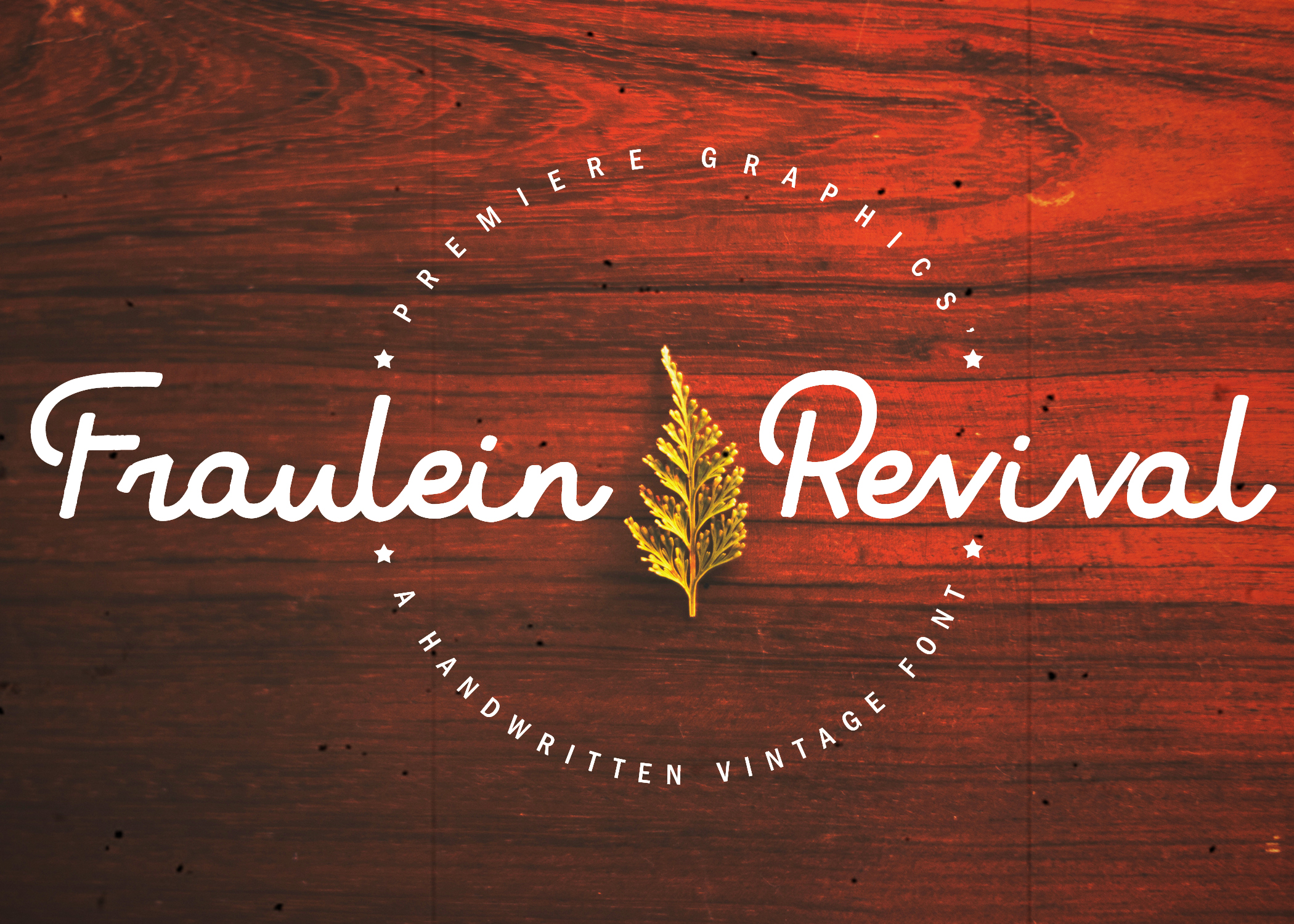 Print on Demand: Fraulein Revival Script & Handwritten Font By Ryn Pojas