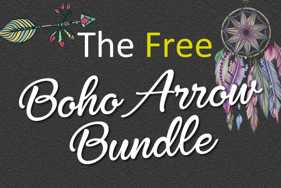 Download Free The Free Boho Arrow Bundle Bundle Creative Fabrica for Cricut Explore, Silhouette and other cutting machines.