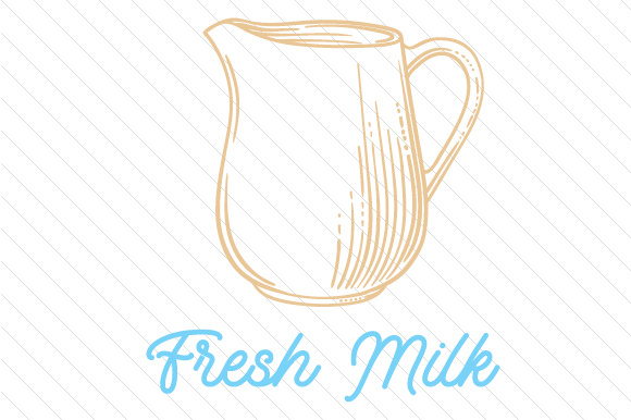 Fresh Milk Craft Design By Creative Fabrica Crafts