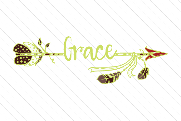 Download Free Grace Arrow Svg Cut File By Creative Fabrica Crafts Creative for Cricut Explore, Silhouette and other cutting machines.
