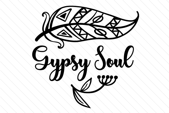Download Free Gypsy Soul Svg Cut File By Creative Fabrica Crafts Creative for Cricut Explore, Silhouette and other cutting machines.