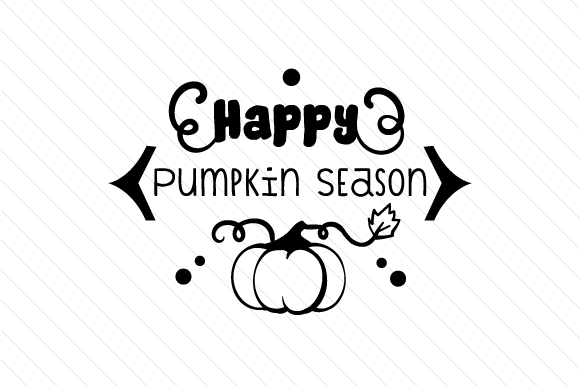Download Free Happy Pumpkin Season Svg Cut File By Creative Fabrica Crafts for Cricut Explore, Silhouette and other cutting machines.