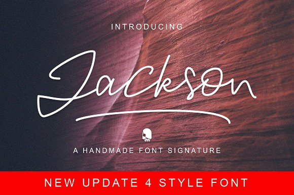Print on Demand: Jackson Script & Handwritten Font By Ijem RockArt