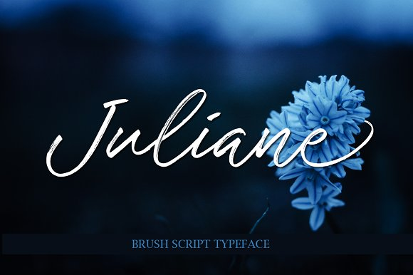 Print on Demand: Juliane Script & Handwritten Font By Byuly Ayika