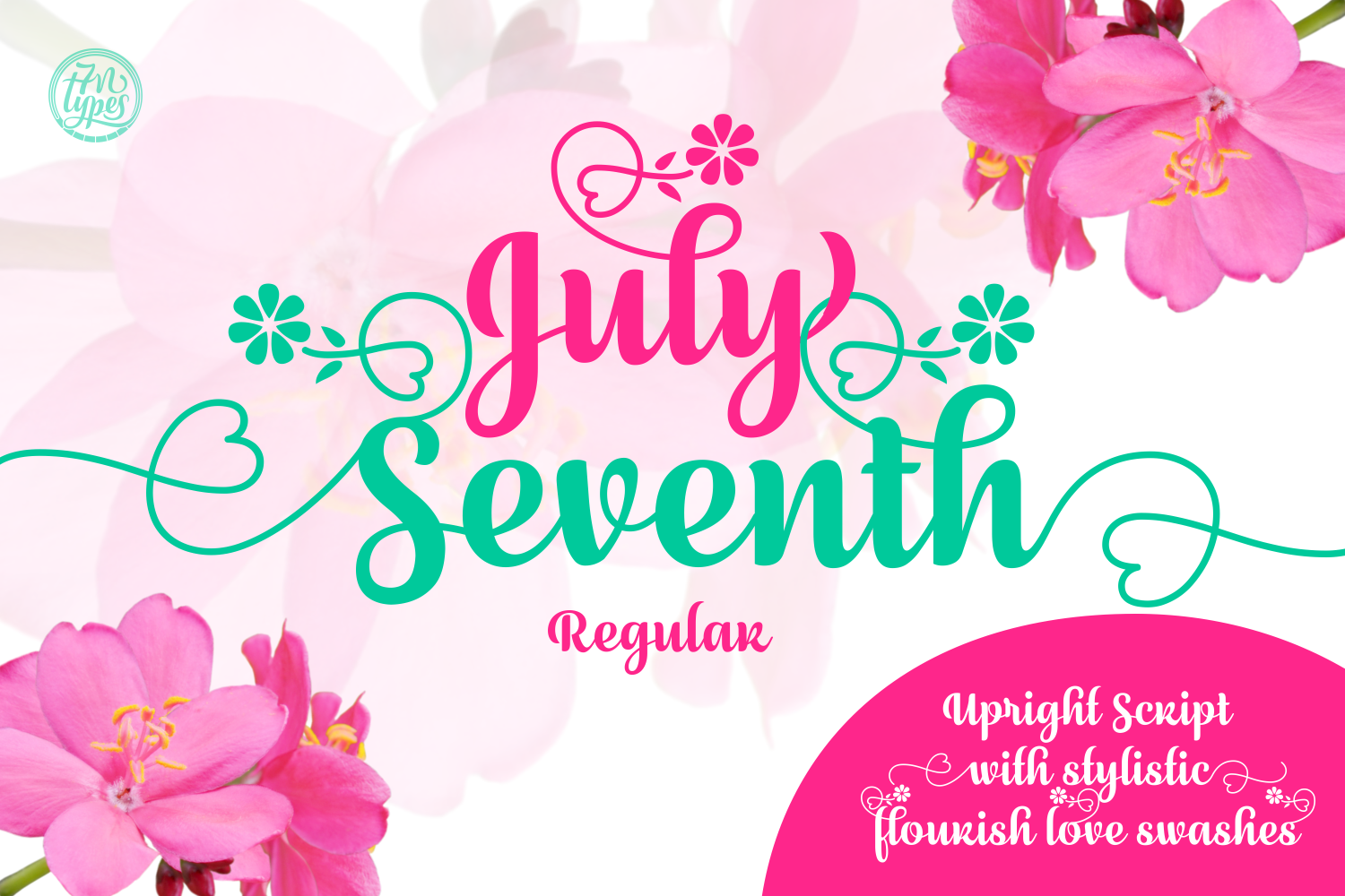Print on Demand: July Seventh Script & Handwritten Font By Situjuh