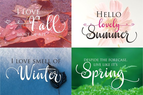 Print on Demand: Kayleight Script & Handwritten Font By Byuly Ayika - Image 3