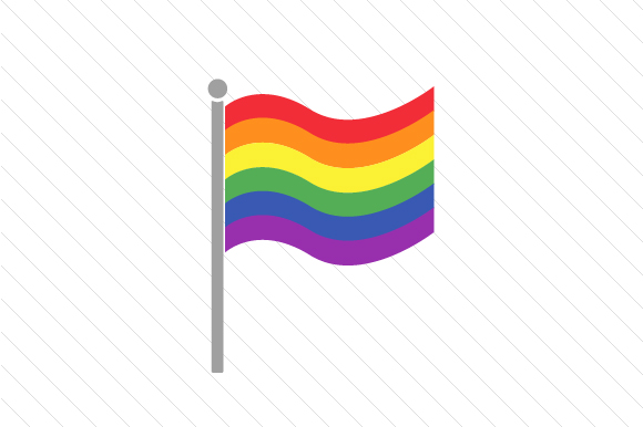 LGBT Flag Awareness Craft Cut File By Creative Fabrica Crafts - Image 1