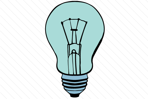 Download Free Light Bulb Svg Cut File By Creative Fabrica Crafts Creative for Cricut Explore, Silhouette and other cutting machines.