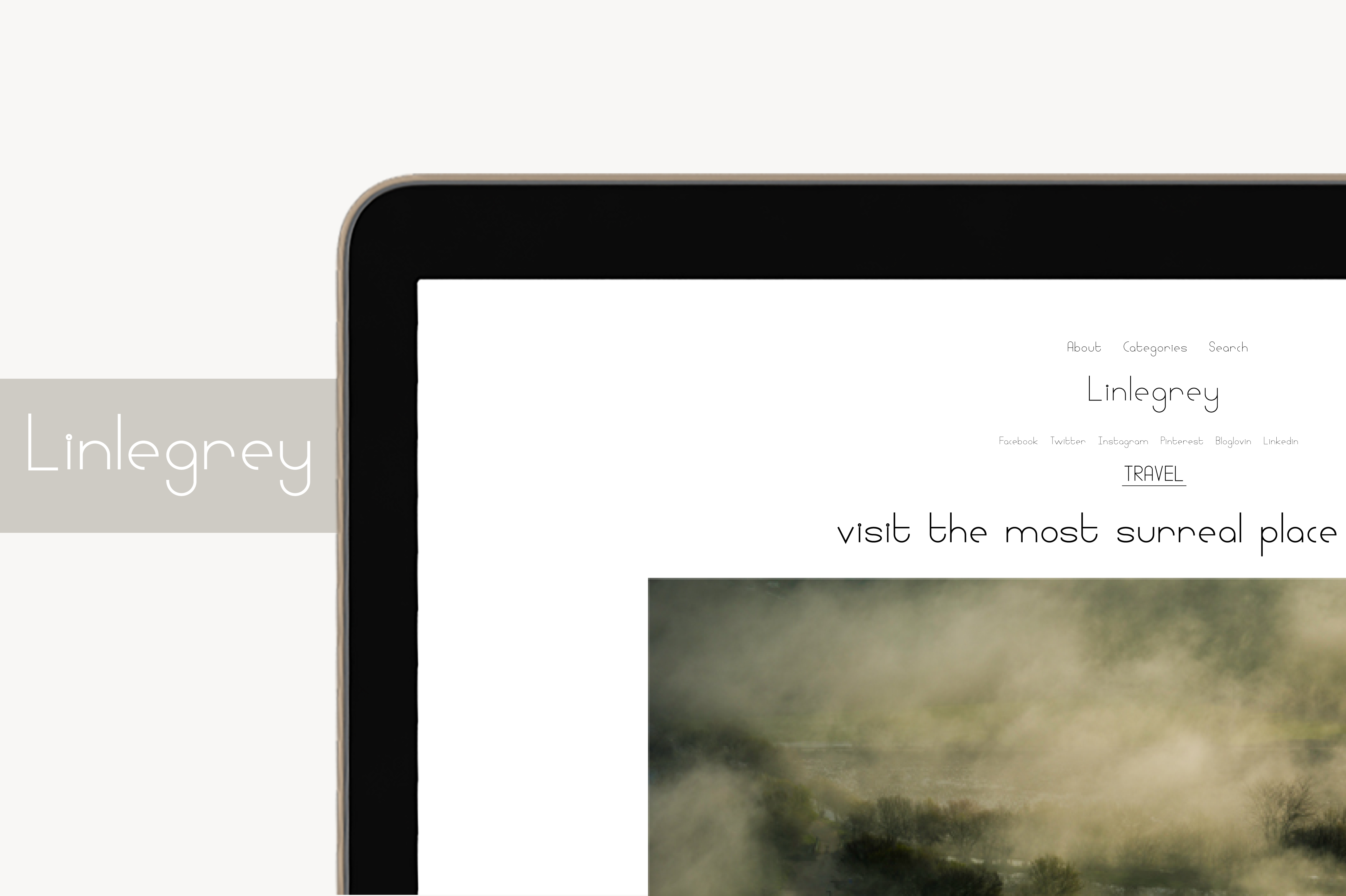 Linlegrey Font By White Supply Image 2