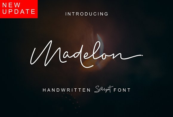 Print on Demand: Madelon Script & Handwritten Font By Ijem RockArt
