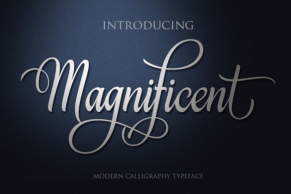 Print on Demand: Magnificent Script & Handwritten Font By Byuly Ayika