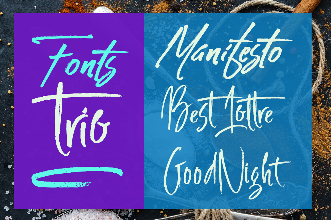 Print on Demand: Manifesto Script & Handwritten Font By Artisans - Image 2