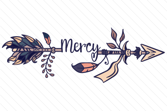 Download Free Mercy Arrow Svg Cut File By Creative Fabrica Crafts Creative for Cricut Explore, Silhouette and other cutting machines.
