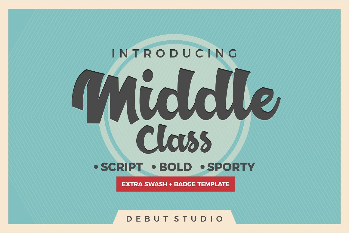 Print on Demand: Middle Class Script & Handwritten Font By Debut Studio