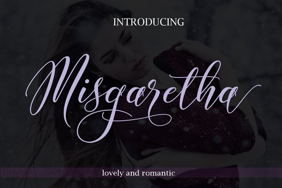 Print on Demand: Misgaretha Script & Handwritten Font By Byuly Ayika