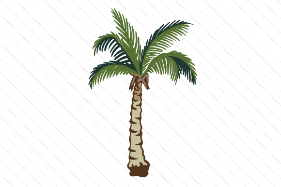 Palm Tree Travel Craft Cut File By Creative Fabrica Crafts