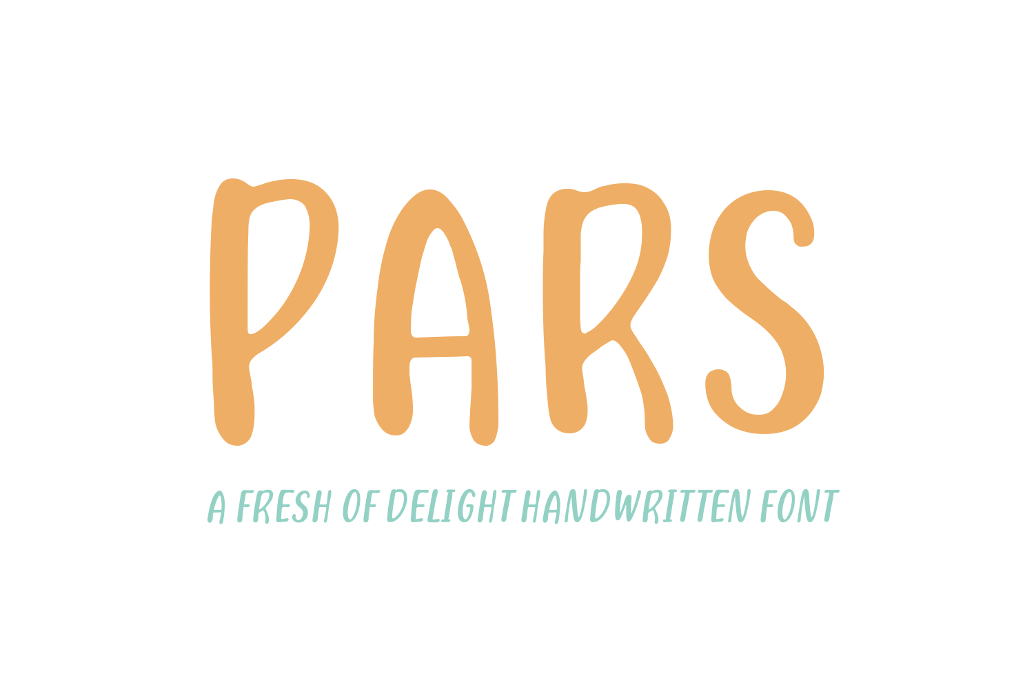 Print on Demand: Pars Script & Handwritten Font By Creative Fabrica Fonts