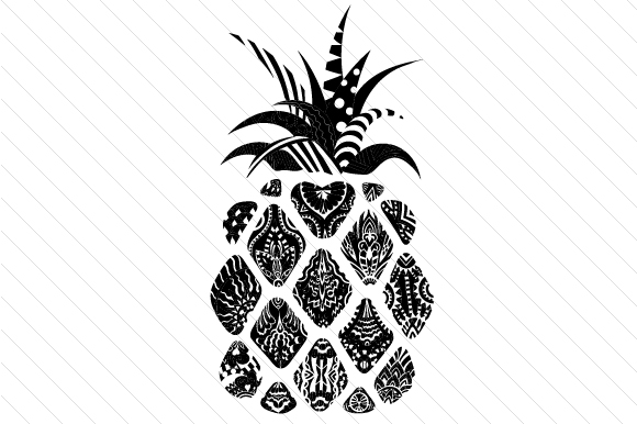 Pineapple Craft Design By Creative Fabrica Crafts Image 2
