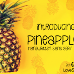 Pineapplez by Love SVG