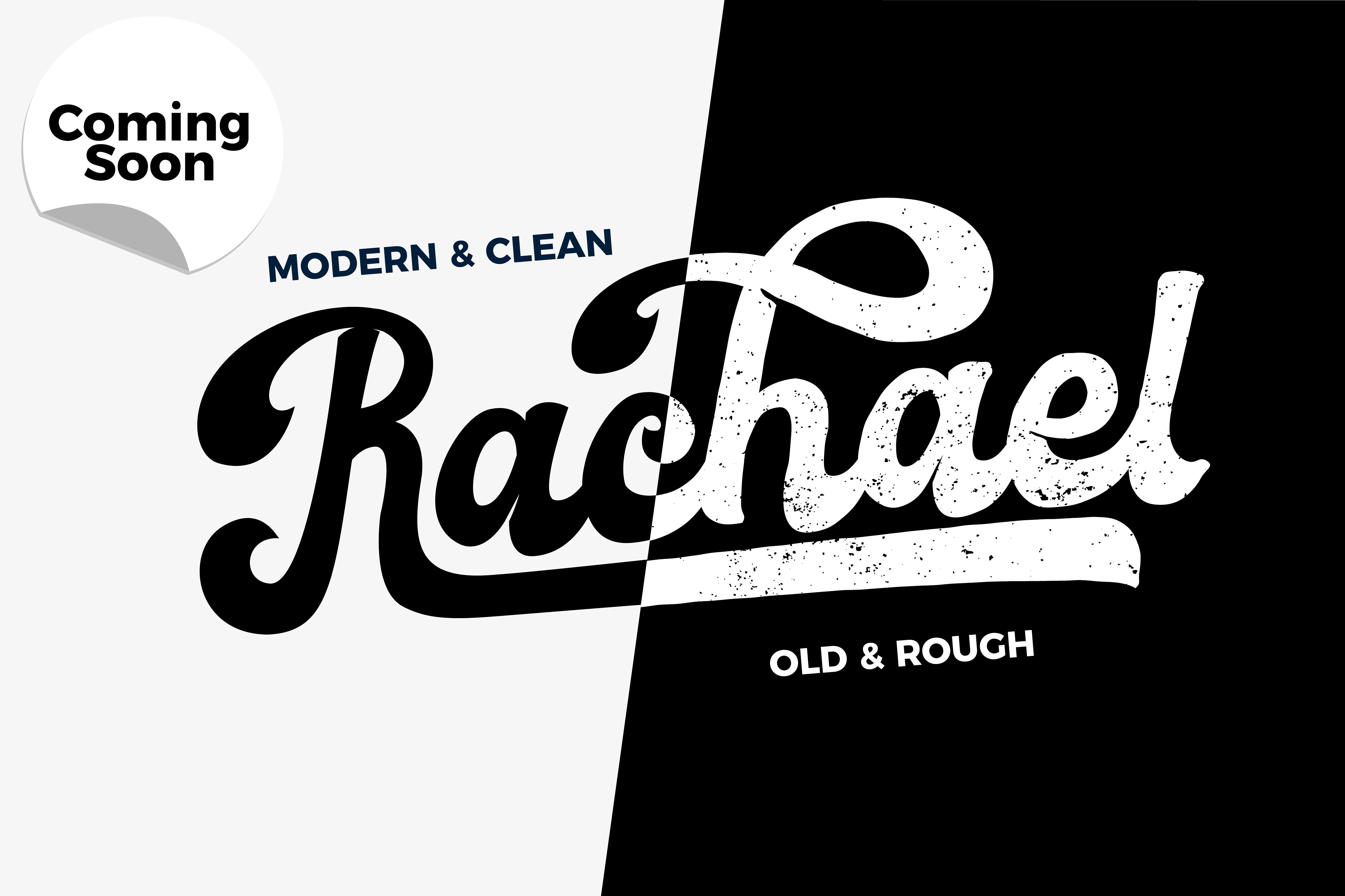 Download Free Rachael Font By Debut Studio Creative Fabrica for Cricut Explore, Silhouette and other cutting machines.