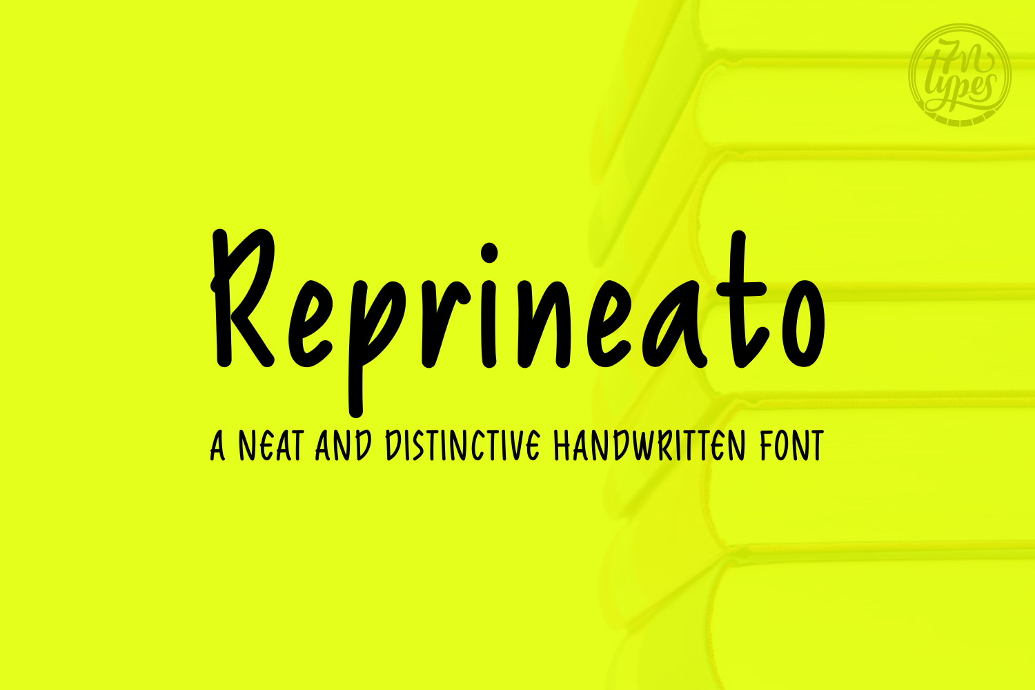 Reprineato Script & Handwritten Font By Situjuh