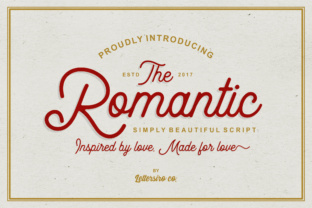 Romantic Script by Lettersiro Co.