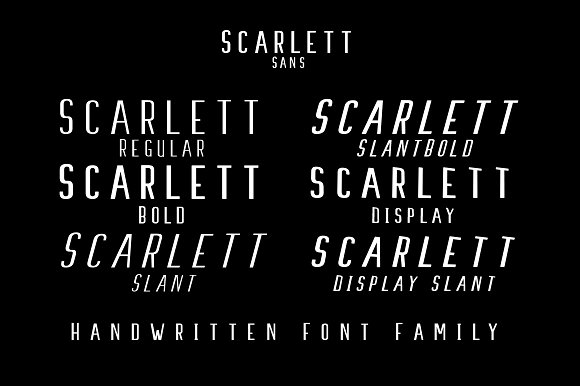 Print on Demand: Scarlett Script & Handwritten Font By Ijem RockArt - Image 8