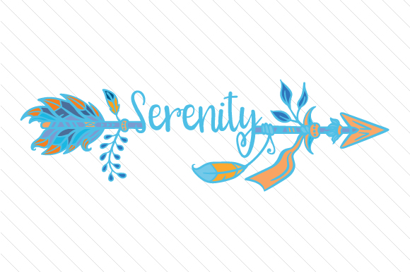 Serenity Arrow Boho Craft Cut File By Creative Fabrica Crafts