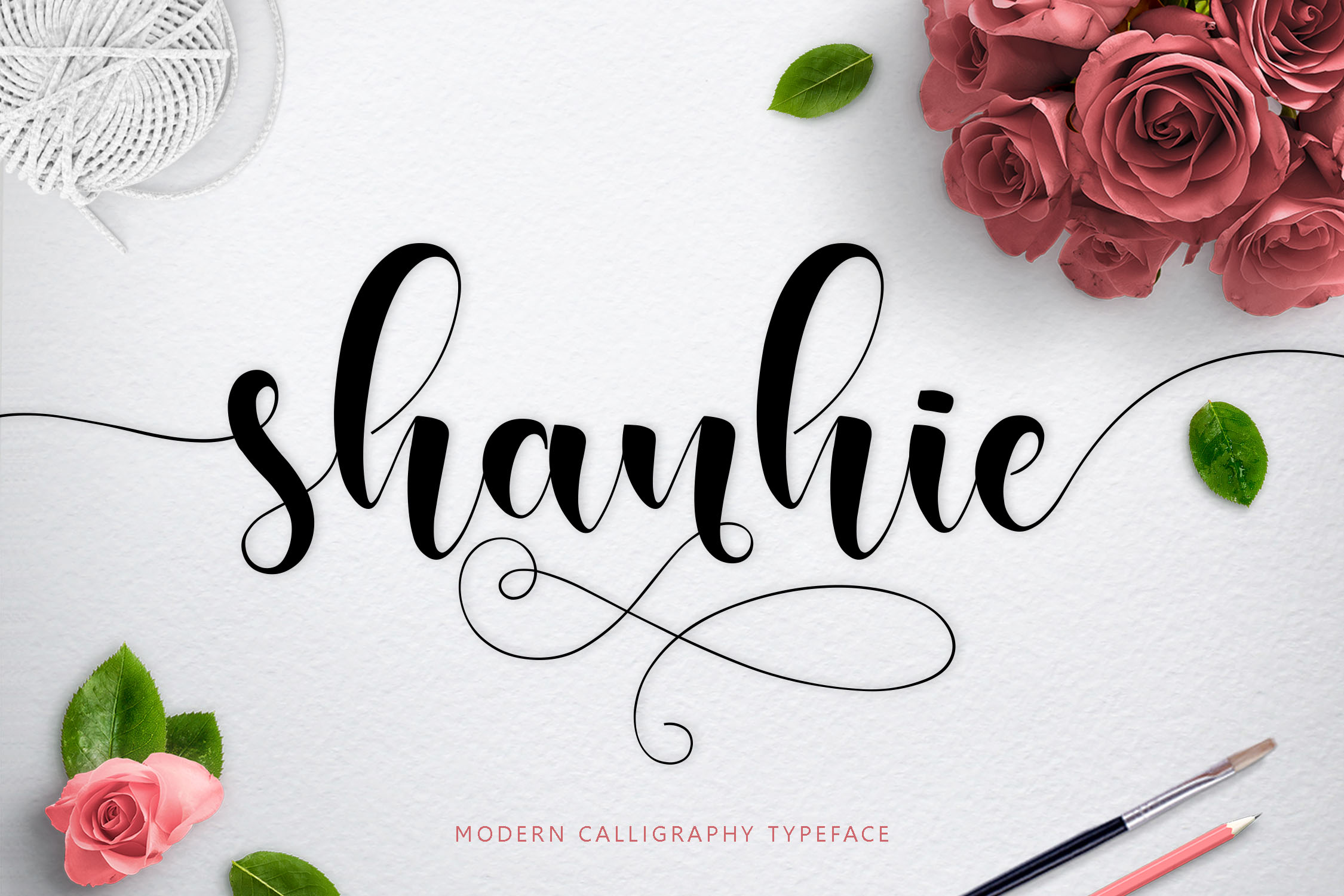 Print on Demand: Shanhie Script & Handwritten Font By Jamalodin