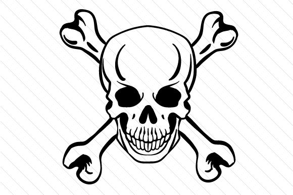 Skull And Bones Svg Cut File By Creative Fabrica Crafts