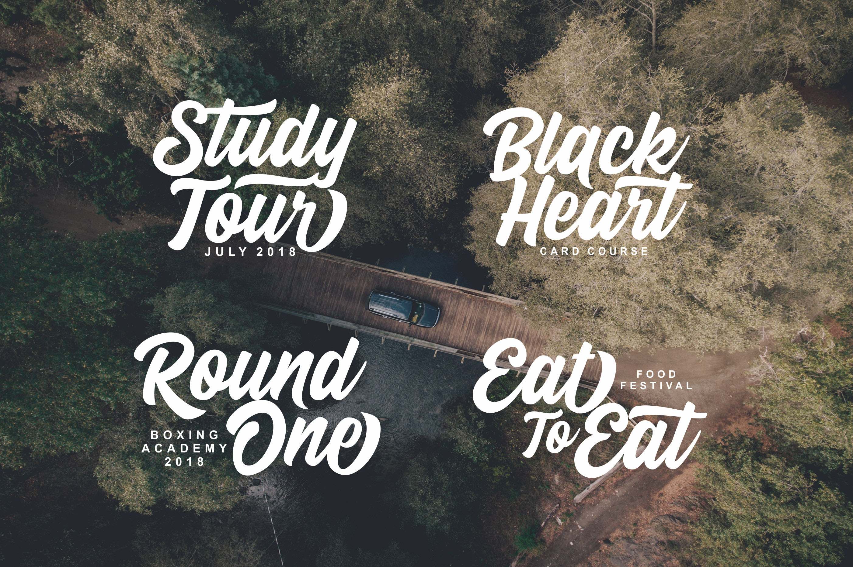 Stay Outside Font By Lettersiro Co. Image 7