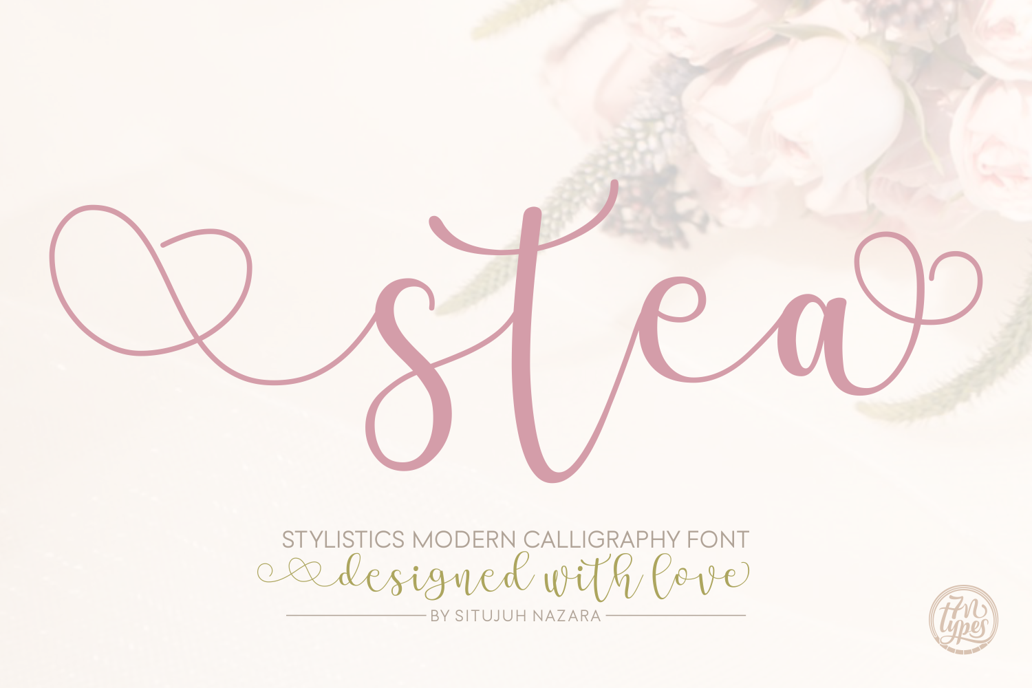 Print on Demand: Stea Script & Handwritten Font By Situjuh