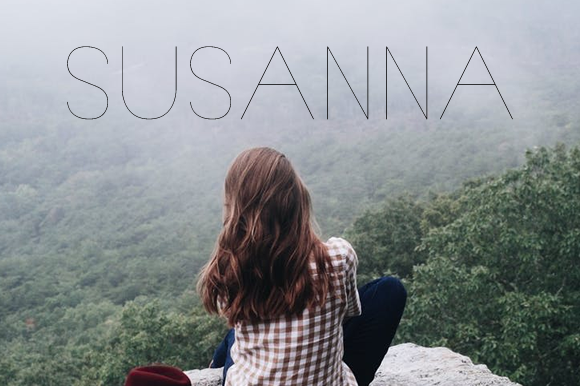 Print on Demand: Susanna Font By Creative Fabrica Freebies