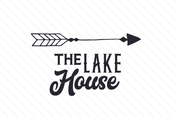 Download Free The Lake House Svg Cut File By Creative Fabrica Crafts for Cricut Explore, Silhouette and other cutting machines.