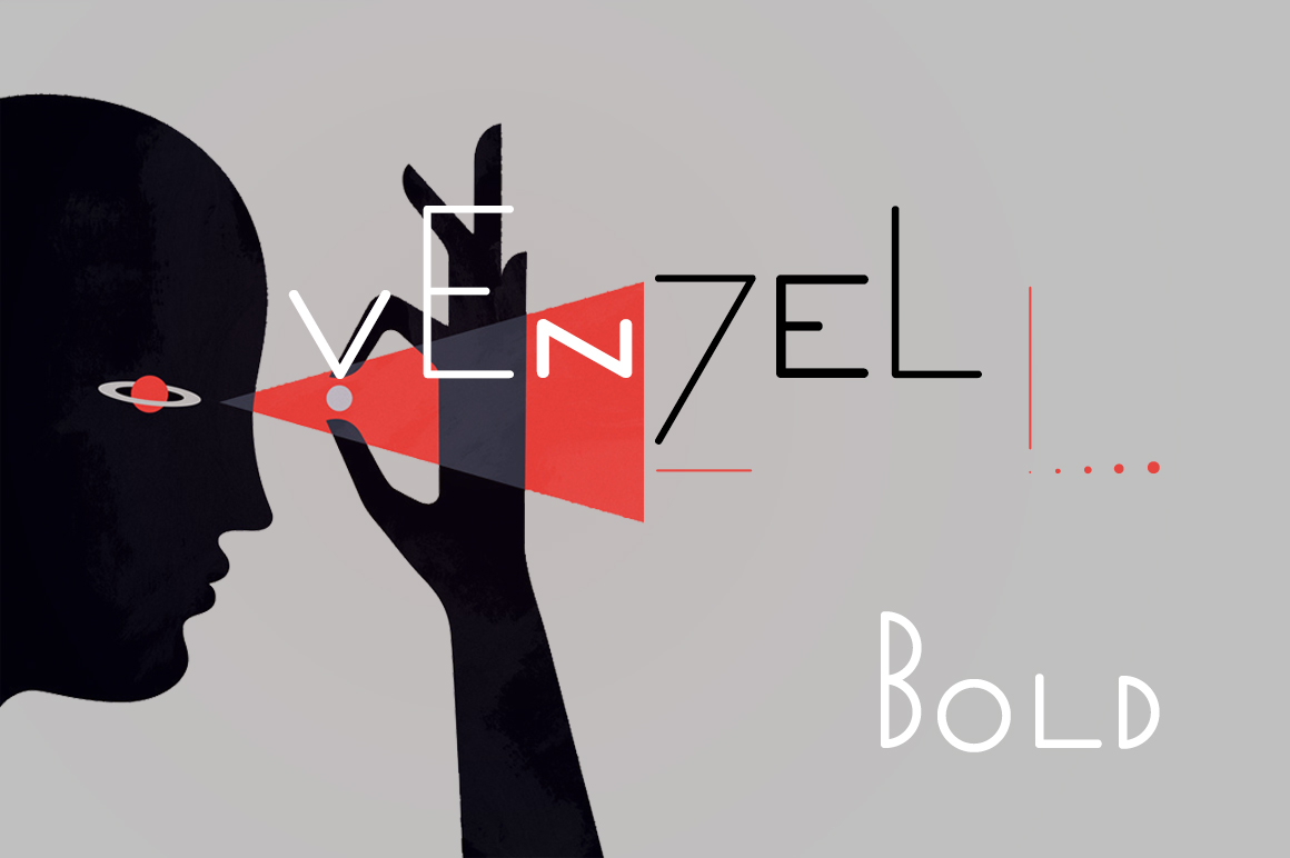 Print on Demand: Venzel Bold Display Font By Etewut