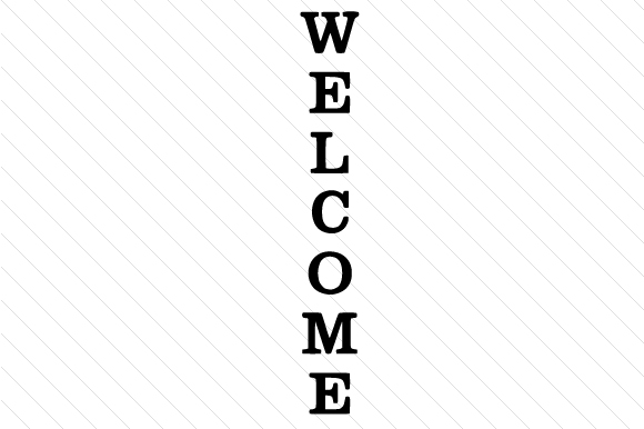 WELCOME Doors Signs Craft Cut File By Creative Fabrica Crafts - Image 1