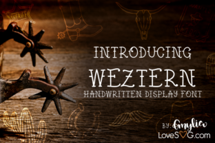 Weztern by Love SVG