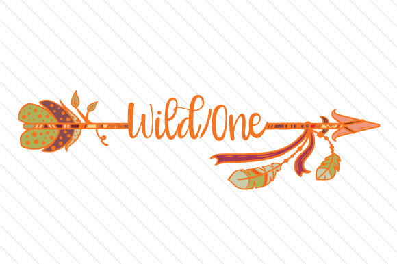 Wild One Arrow Boho Craft Cut File By Creative Fabrica Crafts