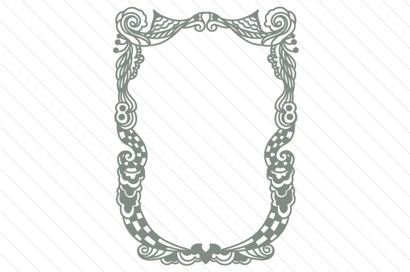 Download Free Zentangle Frame Svg Cut File By Creative Fabrica Crafts for Cricut Explore, Silhouette and other cutting machines.