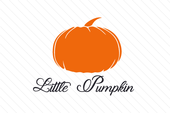 Little Pumpkin Halloween Craft Cut File By Creative Fabrica Crafts