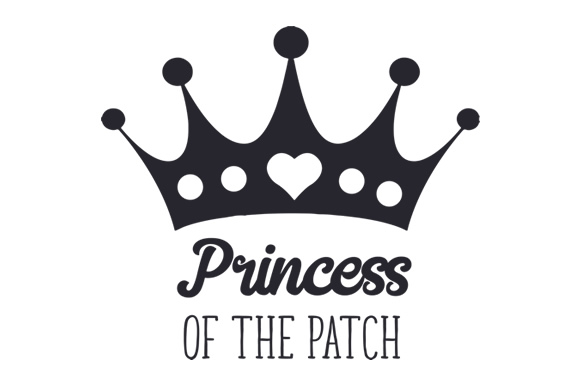 Download Free Princess Of The Patch Svg Cut File By Creative Fabrica Crafts for Cricut Explore, Silhouette and other cutting machines.