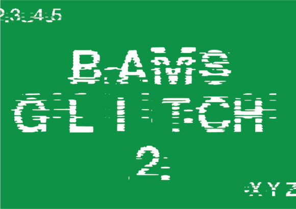 Print on Demand: Bams Glitch V2 Decorative Font By GraphicsBam Fonts