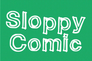 Sloppy Comic Font By GraphicsBam Fonts